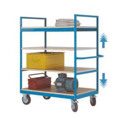 "Mobile Shelving ""Varimobil"" - 4 Shelves - Load Capacity 500kg - Height 1730mm"