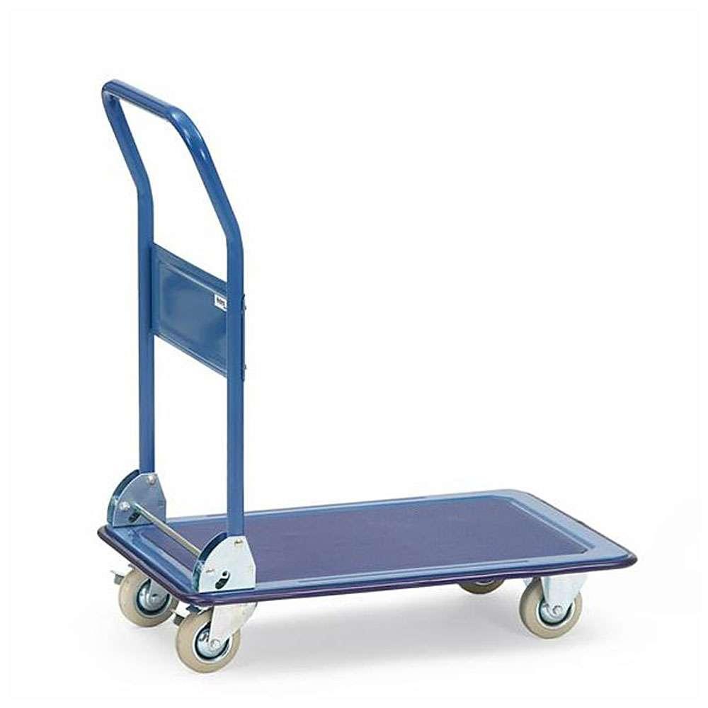 All-steel car - Capacity 150-250 kg - non-slip cover