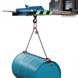 """Barrel Lifters """"Type FGV"""" Lifting Capacity 300 kg Chain Length 1,91 m"""