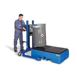 """Drum Holder """"Servo FL 12"""" Holding 300 kg Lifting Range Up To 500 mm"""