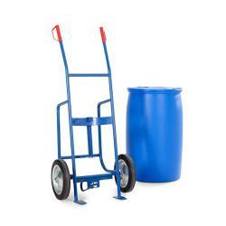 Fasskarre FKH - Stahl lackiert - Vollgummi-Bereifung - für 200-Liter-Fässer