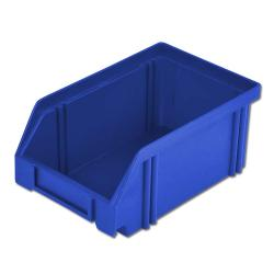 Bac de rangement - empilable - polystyrène choc - jusqu'à 230 mm 500/450x300x