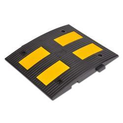 Fahrbahnschwelle - PP - Mittelstück - 50 km/h - 600x500x45mm – schwarz