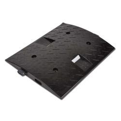 Temposchwelle - PP - Mittelstück - 30 km/h - 500x400x40mm - schwarz