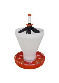 Upgrade hopper for piglet bowl Maxi Hopper Pan - capacity 21 l