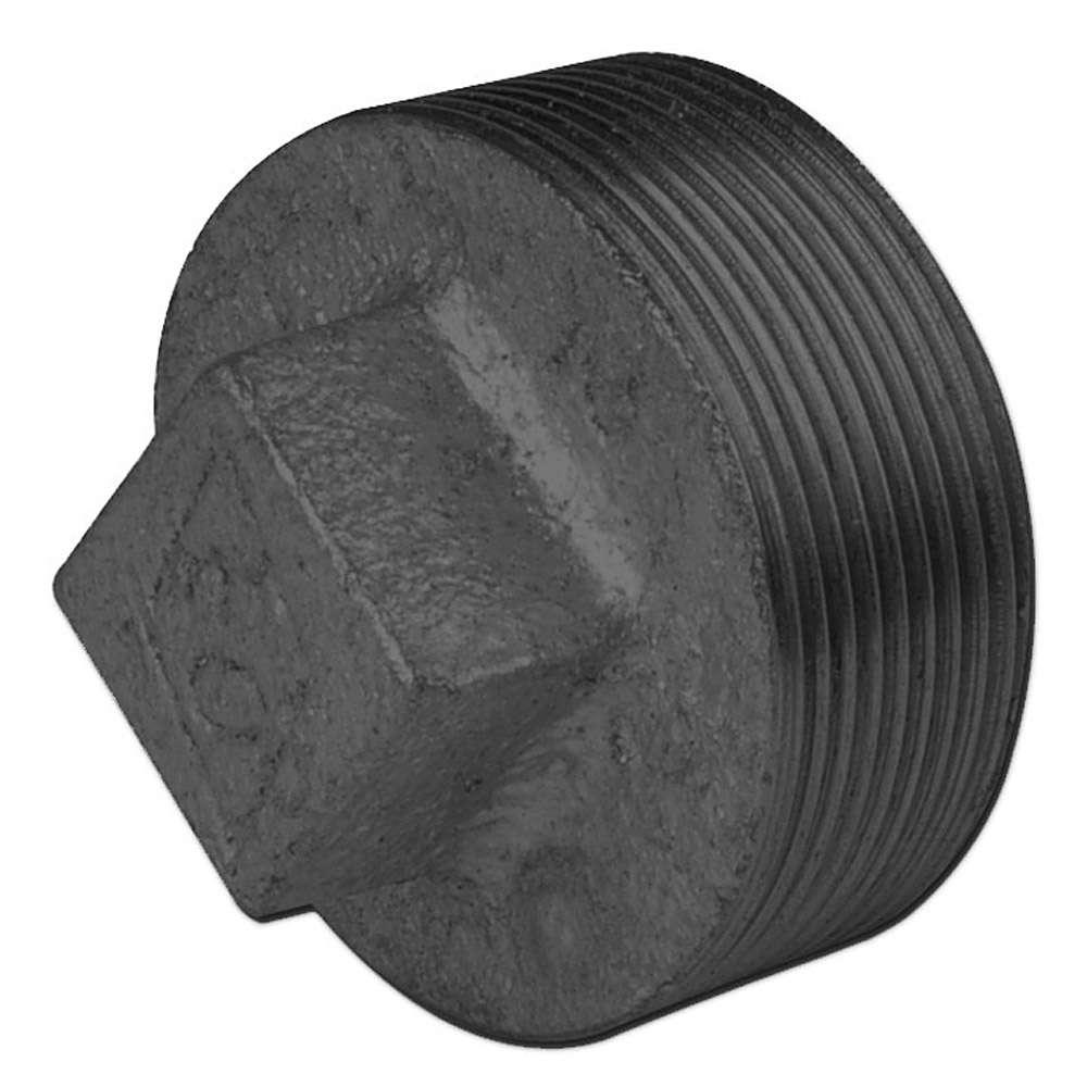 Tappo 291 - ghisa malleabile - nero e zincato