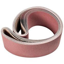 Restposten - Schleifband - PFERD - Korund A - Korngröße 60 - Bezeichnung BA 150/2000 X A 60 - Maße 150 x 2000 mm - ISO 2976 - Preis per Stück