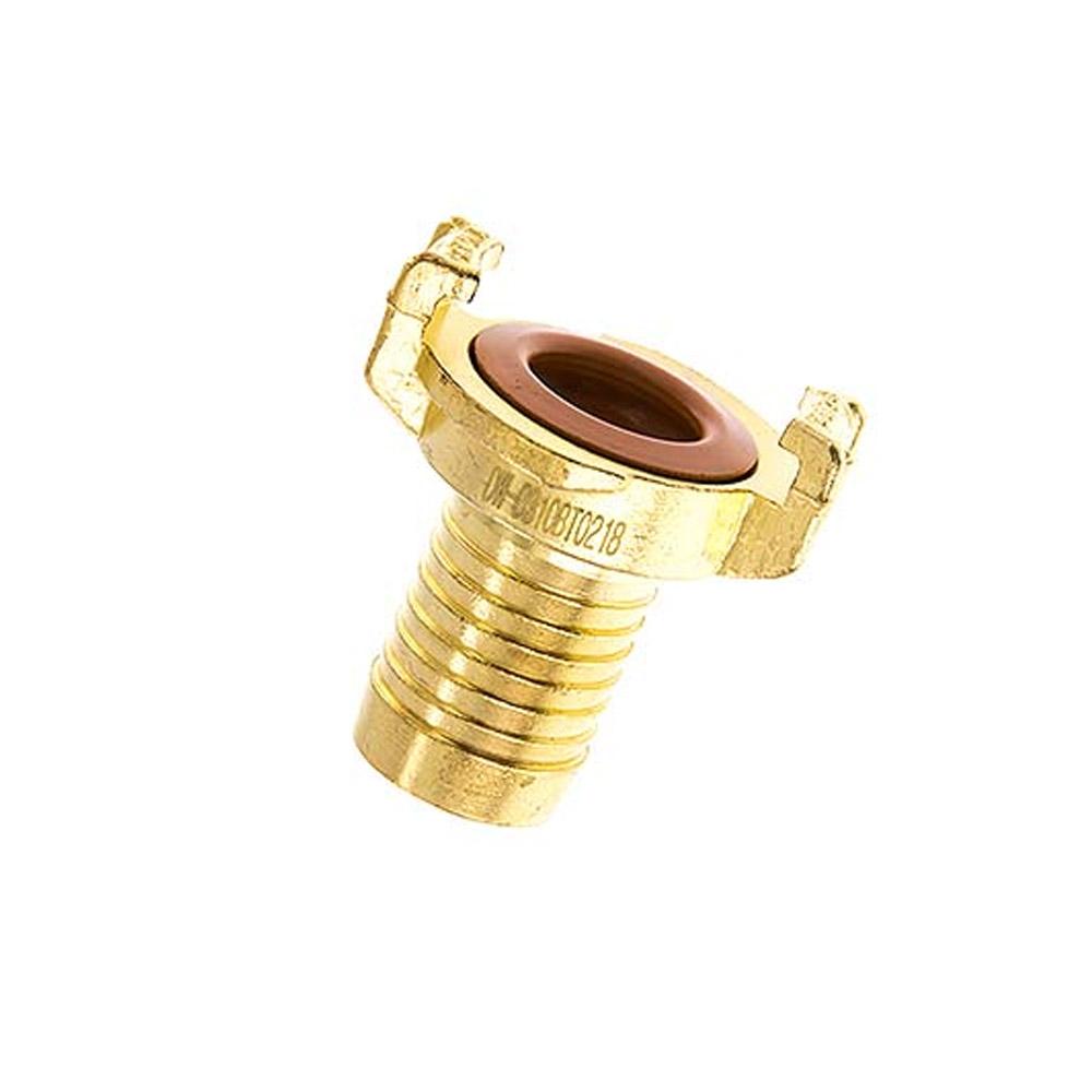 GEKA® Klauenkupplung - Schlauchanschluss - Messing - Schlauch-Ø 13 bis 38 mm - für Trinkwasser