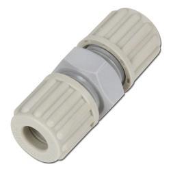 Schlauchverschraubung - PA/PVDF/PFA - gerade - Außen-Ø 6 bis 12mm - bis 10 bar