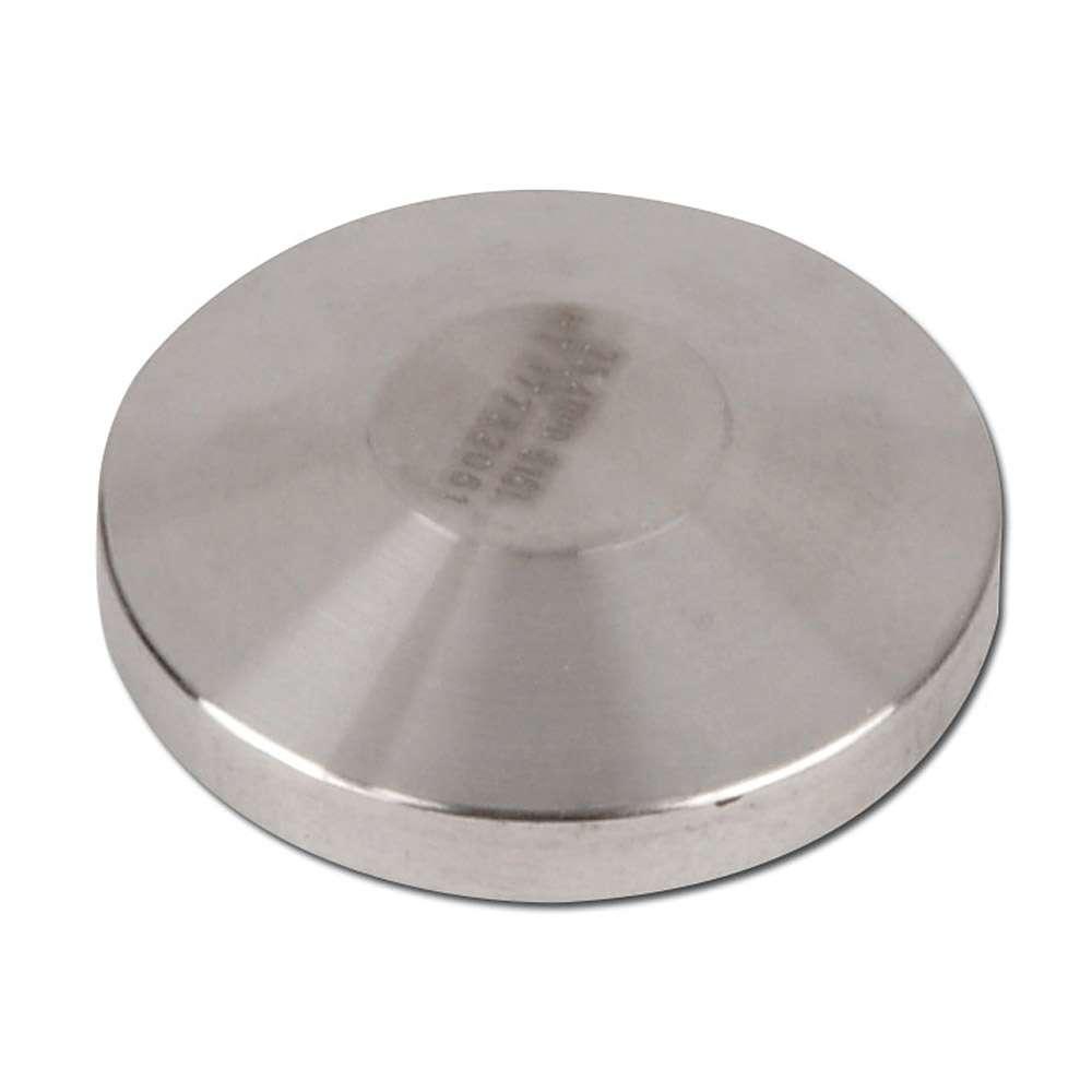 Triclamp - Verschlusskappe - Edelstahl