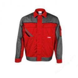Resterande lager - väst - Highline - 35/65% MG - tygvikt 285 g / m² - storlek 27 - färg röd / skiffer