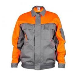 Restposten - Bundjacke - 35/65% MG - Größe 66 - zink/orange