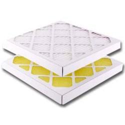 Restposten - Rahmenfilter - Papprahmen - Filterklasse G2/EU2 - Glasfaser - 24 mm Dicke - 495 x 622 mm