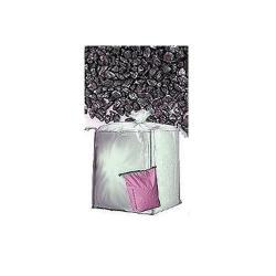 Restposten - Schmelzkammerschlacke  0.2 - 2.2 mm (mittel) - Verpackung 25 kg Säcke - Preis per Tonne