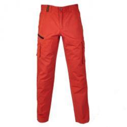 Sommarbyxor - Diadora - 100% bomull - orange - storlek L