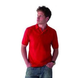 """Restposten - Poloshirt - Gr. 4XL - königsblau - 100 % CO - ideale Passform - weiches Pique-Polo - verstärkter Kragen - """"Essential"""""""