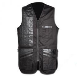 """Rester - Shooting Vest """"Deerhunter Champ de Luxe"""" - fast - svart / svart - storlek 2XL"""