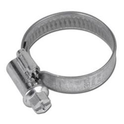 Wormthread-clamp - galvanized - clamping range 8 to 320mm - DIN 3017 - 9mm bandw