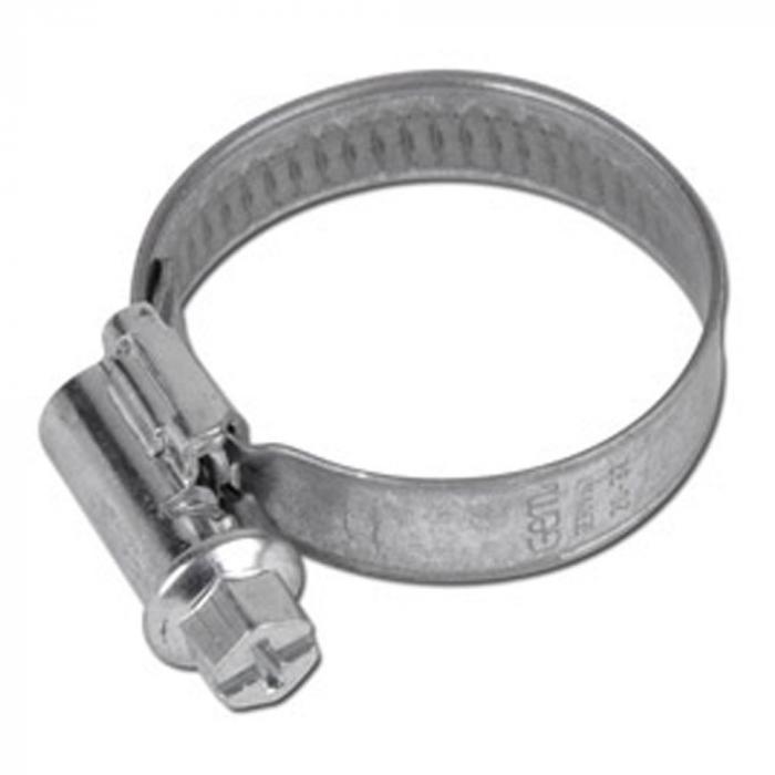 2 St/ück 9 mm 12-20mm Schneckengewinde Schlauchschellen Schellen Stahl Verzinkt