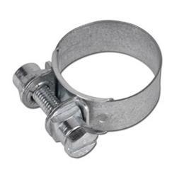 Slangklämma - DIN 3017 - bandbredd 25 mm - förzinkat stål