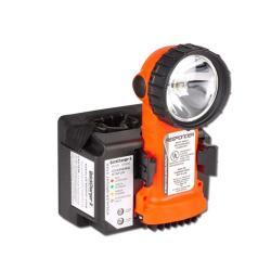 Restposten - Handlampe - Responder RA 500241A - Farbe orange - Sicherheitsgehäuse bis 10 m Fall