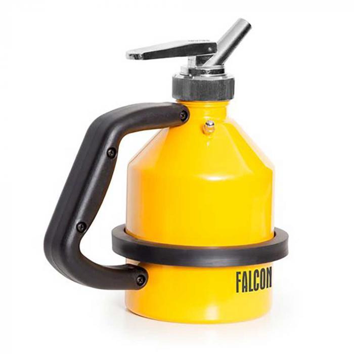 Pichet doseur fin FALCON - acier peint - avec filetage G 1¼ pouce - avec robinet doseur fin
