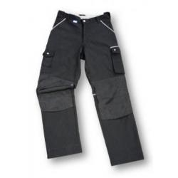 Arbetsbyxor - 50/50% blandväv - storlek 112 - svart - Excess Workwear