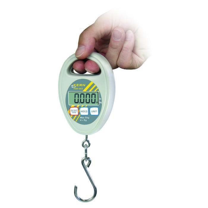 Hängewaage - Messbereich bis 10 kg - kalibrierfähig