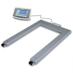 Pallet scale - measuring range up to 1500 kg - calibrateable