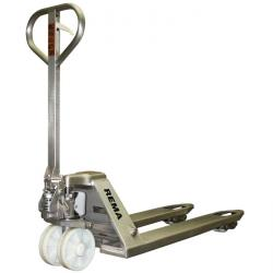 Fork lift truck type PTR - stainless steel - up to 2000 kg