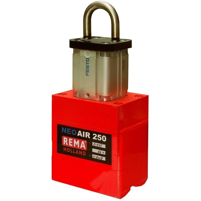 """Pneumatisk magnet """"Rema® PFR-AIR"""" - till 500 kg"""