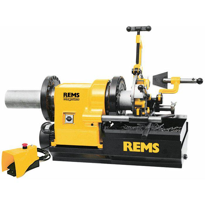 "Cutting machine ""REMS Magnum LT"" - 2 ""- including cutting head - with removable"