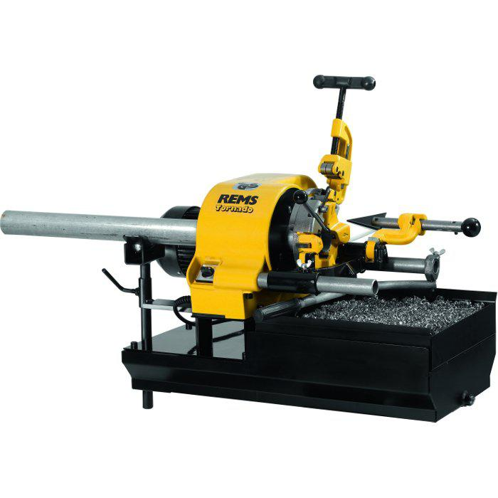 """Cutting machine """"REMS Tornado"""" - up to 2 """"- with tool set"""