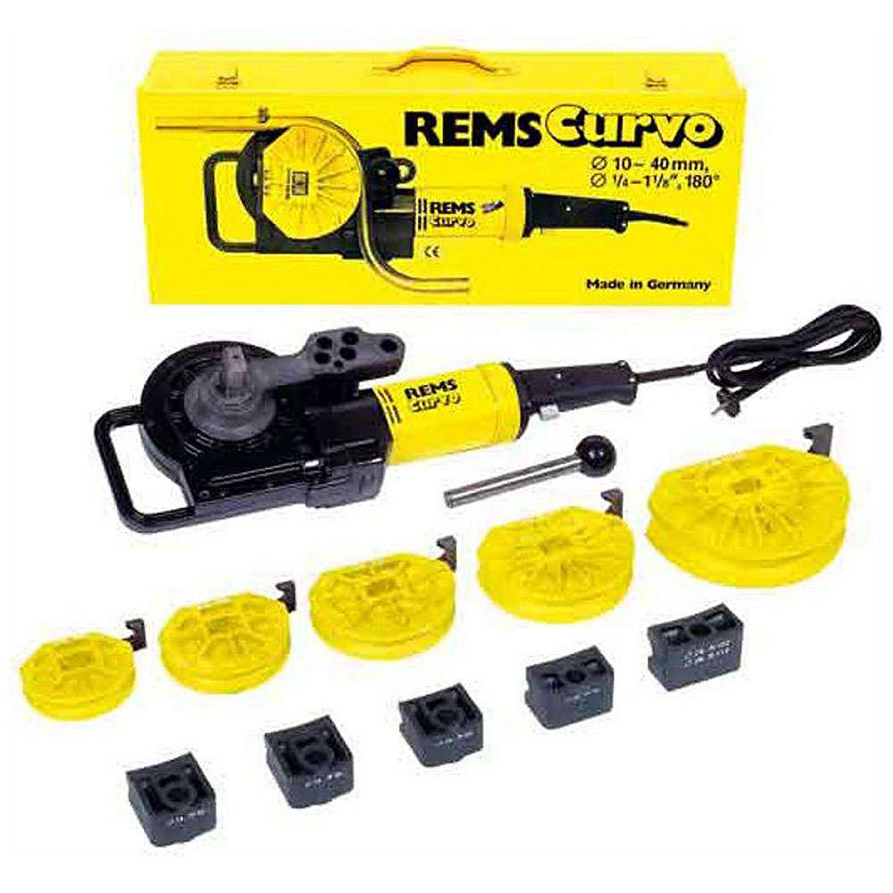 """Elektrischer Rohrbieger Set """"REMS Curvo"""" - 10 bis 40 mm, 3/8 bis 3/4"""""""