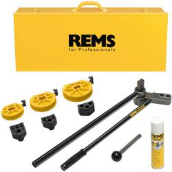 "Hand tube bender set ""REMS Sinus"" - 10 to 22 mm, 3 / 8 to 7 / 8 ""- up to 180 °"
