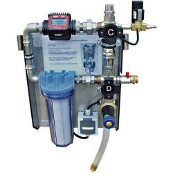 "Heating Water Filling And Flushing System - For ""Flushing Professional Mobile Ce"