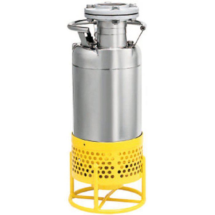 Schmutzwasserpumpe Supersand Inox - max. 2,2 kW - max. 870 l/min - max. 10 m Tauchtiefe