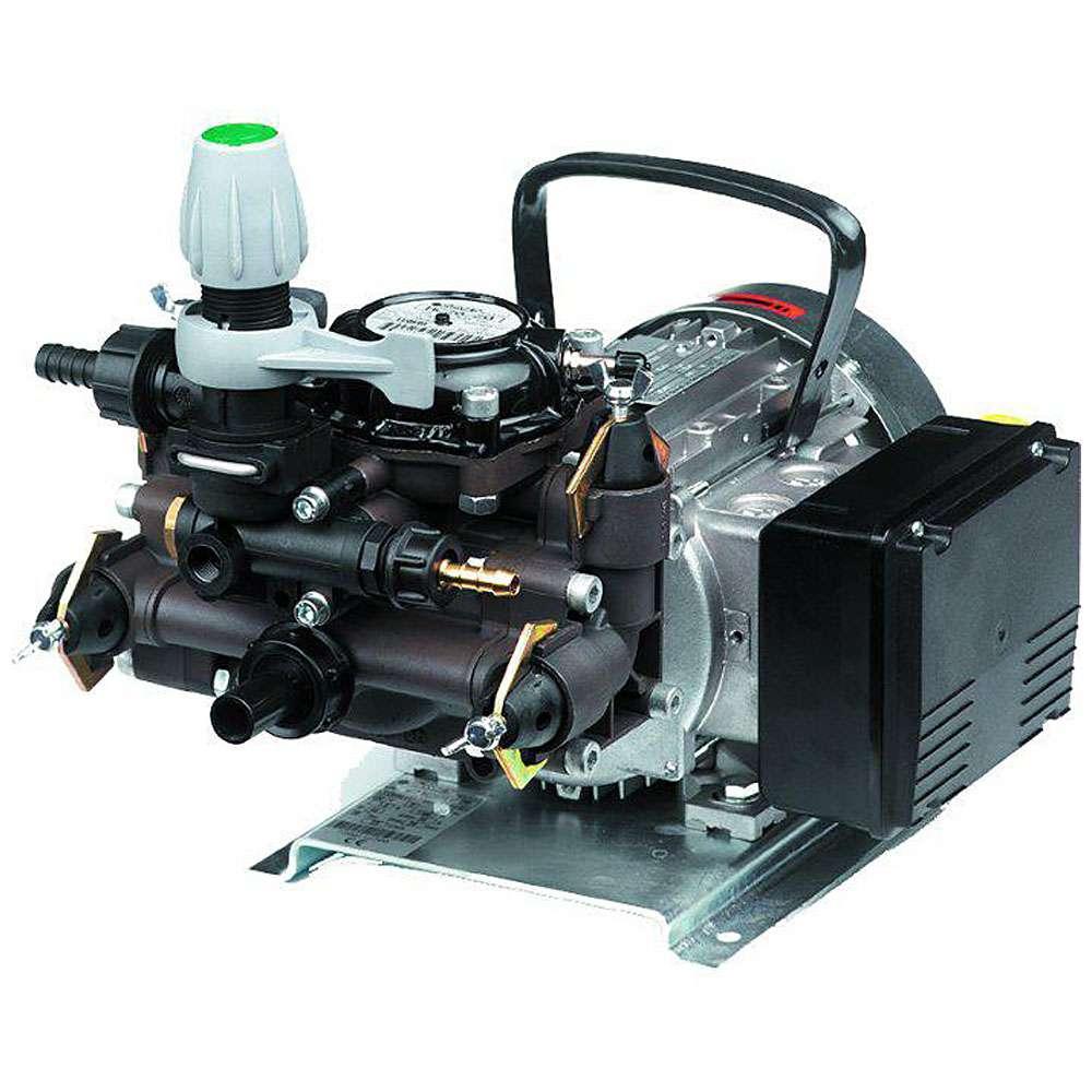 Membranpumpar MC 20 - 230 V / 400 V - 23 l / min - 20 bar - Hus av anodiserad aluminium
