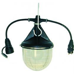 Hängeleuchte - IP 55 - 30 Watt - E 27 - mit Stecker und Kupplung