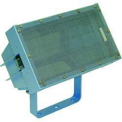 Halogenstrålkastare - IP 65 - 750 W - längd 380 mm - bredd 225 mm