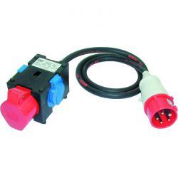 Kompaktverteiler - Eingang 400V - 2 Dosen 230V+1 CEE-Dose 400V