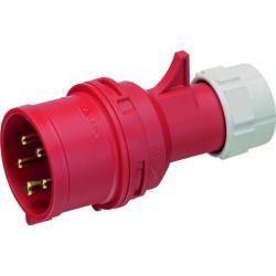 CEE-kontakt stänksäker 5-polig - 400 V - 6 timmar
