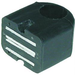 Magnet-Gummiklammer - für Handleuchten INDUFLEX QR/QT