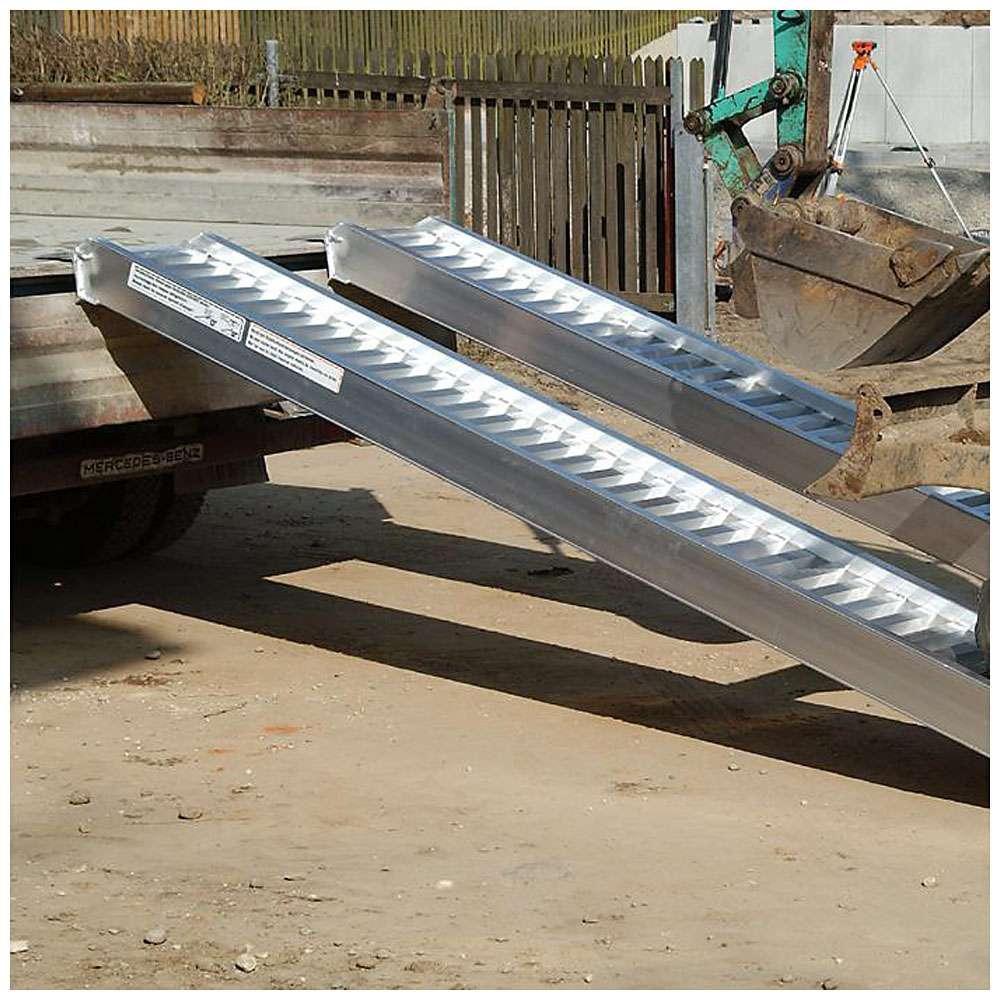 Rampe - Typ AVS 200 - Stahlkettenfahrzeuge - bis 8500 kp/Paar
