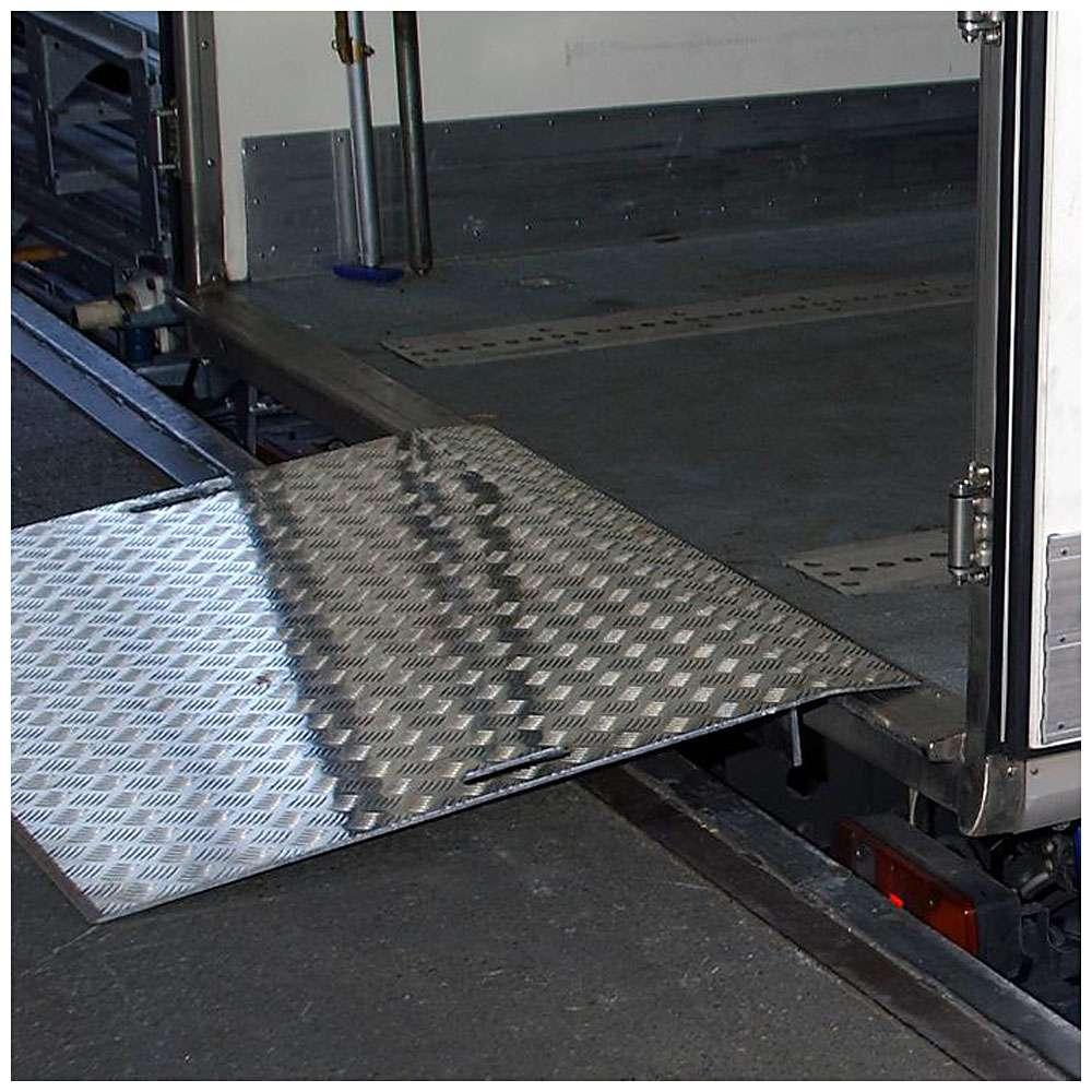 Überladebrücke - Typ AWB - Filterstärke 15 mm - bis 1200 kp - bis 1,80 m Länge