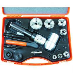 Håltagningsverktyg i set - hydrauliskt - M 16 till M 63 - Tristar Plus