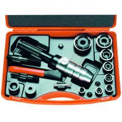 Håltagningsverktyg i set - hydrauliskt - PG 9 till PG 42 - ALFRA