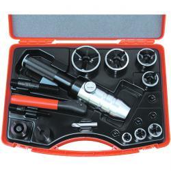Håltagningsverktyg i set - hydraulisk - M 16 till M 63 - Tristar
