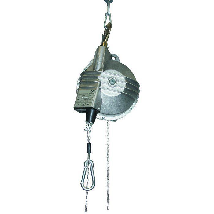 Bilanciatore - capacitá di carico da 15 a 45 kg - per punzonatrici - con dispositivo di blocco