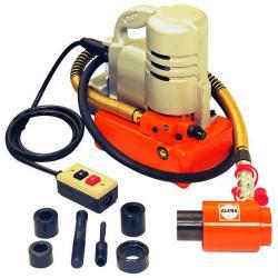 Air hydraulic pump - ALFRA DSP-120 - 230V, 50Hz - up to 700 bar